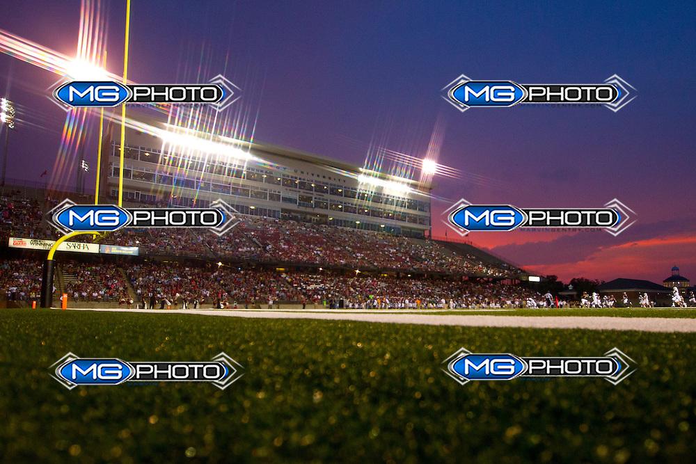 Aug 31, 2013; Troy, AL, USA;  at Veterans Memorial Stadium. Mandatory Credit: Marvin Gentry-USA TODAY Sports