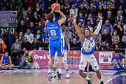 DESCRIZIONE : Beko Legabasket Serie A 2015- 2016 Dinamo Banco di Sardegna Sassari - Betaland Capo d'Orlando<br /> GIOCATORE : Tommaso Laquintana<br /> CATEGORIA : Tiro Tre Punti Three Point Controcampo Ritardo<br /> SQUADRA : Betaland Capo d'Orlando<br /> EVENTO : Beko Legabasket Serie A 2015-2016<br /> GARA : Dinamo Banco di Sardegna Sassari - Betaland Capo d'Orlando<br /> DATA : 20/03/2016<br /> SPORT : Pallacanestro <br /> AUTORE : Agenzia Ciamillo-Castoria/L.Canu
