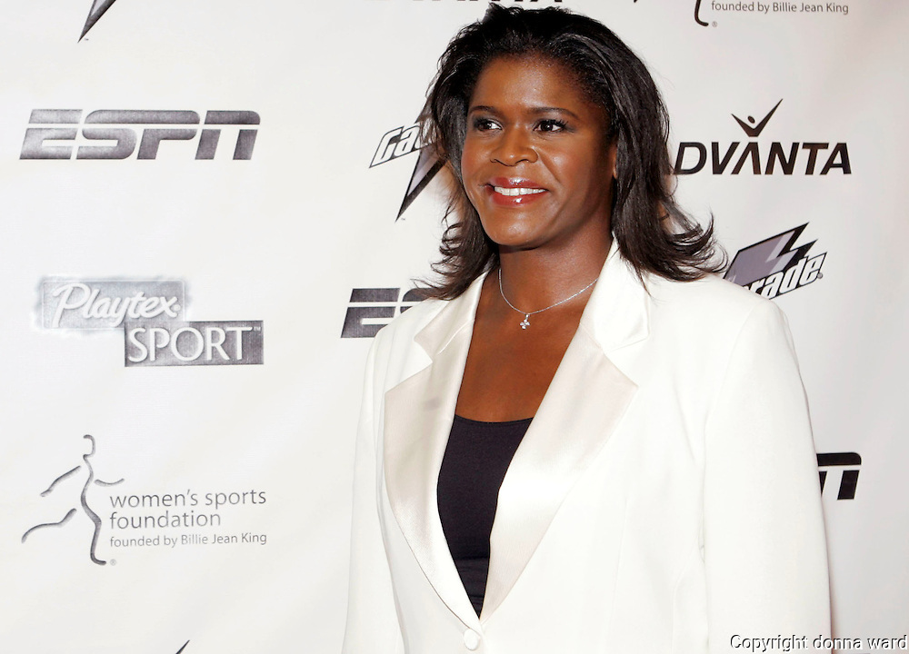 Anucha Browne Sanders poses at the 28th Annual Salute To Women's Sports at The Waldorf-Astoria Hotel in New York City, USA on October 15, 2007.