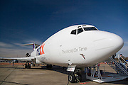 Arkansas, AR, USA, Airpower Arkansas 2006 was held at the Little Rock Air Force base November 2006 participation of the Air Force, Navy, National Guard and civilian aerobatics aviators. FEDEX Boeing 727 transport aircraft