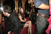 SARAH MURRAY, Agent Provocateur celebrate the launch of Agent Provocateur Maitresse Gold Edition. The Grill Room. Cafe Royal London. 3 October 2007. -DO NOT ARCHIVE-© Copyright Photograph by Dafydd Jones. 248 Clapham Rd. London SW9 0PZ. Tel 0207 820 0771. www.dafjones.com.