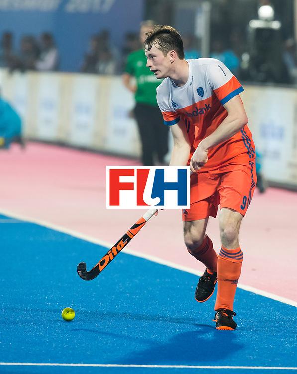 BHUBANESWAR - Seve van Ass (Ned)  tijdens de Hockey World League Finals , de kwartfinale wedstrijd Duitsland-Nederland (3-3).Duitsland wint na shoot-outs.    COPYRIGHT KOEN SUYK