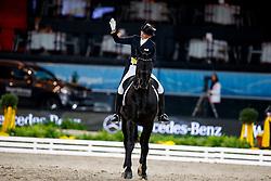 Lutkemeier Fabienne, GER, Fabregaz <br /> Stuttgart German Masters 2017<br /> © Hippo Foto - Dirk Caremans<br /> 17/11/17