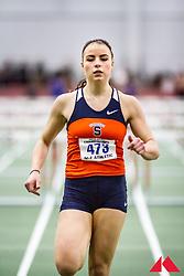 women's 60 Hurdles, semi 1, Syracuse