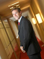 BRUSSELS, BELGIUM - SEPT-17-2007 - Gaëtan Herinckx, of Dexia Asset Management. (Photo © Jock Fistick)