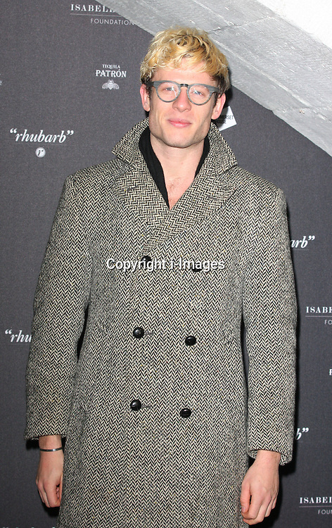 James Norton arriving at the opening of the  Isabella Blow at the Isabella Blow exhibition at Somerset House in London, Tuesday, 19th November 2013   Photo by: i-Images