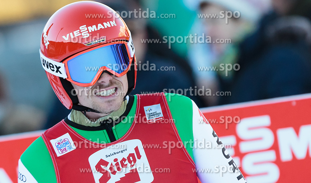 20.12.2015, Nordische Arena, Ramsau, AUT, FIS Weltcup Nordische Kombination, Skisprung, im Bild Fabian Riessle (GER) // Fabian Riessle of Germany during Skijumping Competition of FIS Nordic Combined World Cup, at the Nordic Arena in Ramsau, Austria on 2015/12/20. EXPA Pictures © 2015, PhotoCredit: EXPA/ JFK