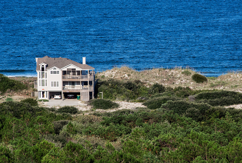 Beach house, Outer Banks, North Carolina, USA