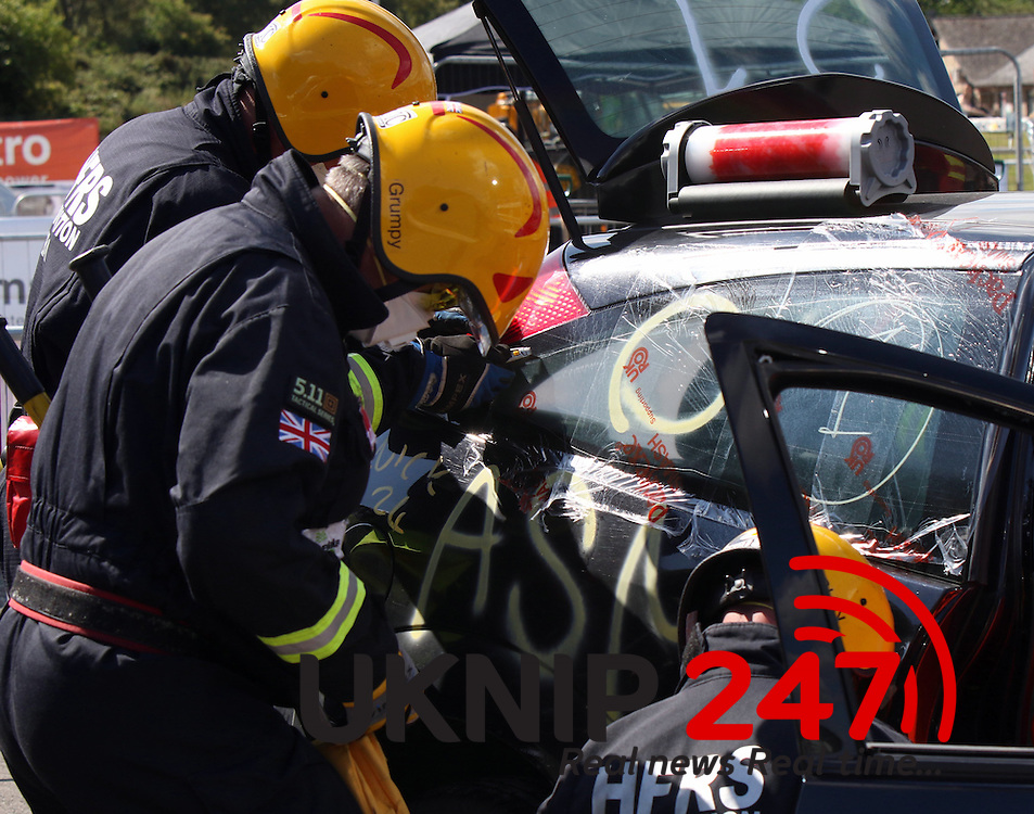 The UK&rsquo;s fire and rescue services descended upon the Fire Service College at the weekend to compete at this year&rsquo;s UK Rescue Challenge, operated by the United Kingdom Rescue Organisation.<br /> <br /> The vehicle extrication challenge, which has been at the heart of the competition for more than 20 years, once again provided competitors with the opportunity to demonstrate their skill, ingenuity and innovation in order to overcome a range of complex and challenging road traffic collision scenarios. Competition was tight with all teams showing why the UK fire and rescue service is the best in the world but it was Hampshire who triumphed overall with Hereford and Worcester and South Wales A taking second and third places respectively, all of whom earned the right to represent the UK at next year&rsquo;s World Rescue Challenge in Brazil. <br /> <br /> Competition was equally tight in the trauma competition where teams demonstrated the ever increasing challenges faced by firefighters in dealing with trauma injuries. Led by Dr Amelia Weaver an Emergency Doctor with the NHS, the scenarios were designed to reflect the types of injuries that firefighters are often confronted with. After two days of severed limbs, walking wounded and lots of fake blood, it was the team from London Fire Brigade who took first place ahead of Hampshire B and West Midlands B in second and third. Like their extrication counterparts, all three teams will be competing on the world stage in Brazil next year. Similarly, Staffordshire, Hereford and Worcester and Hampshire A will be heading to Portugal later in the year as reward for fourth, fifth and sixth place finishes.<br /> <br /> The rope rescue challenge was the third discipline in which teams competed and like the  extrication and trauma challenges, the bar was raised this year with teams facing a range of demanding scenarios that tested all aspects of rescues from height.