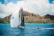 Maserati arriving in Honolulu, Hawaii for Transpac 2013