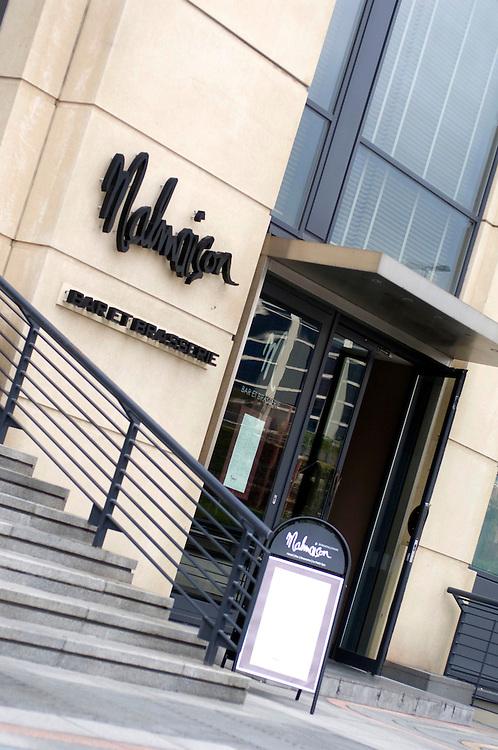 Malmaison Hotel and Bar, Birmingham, England, UK.