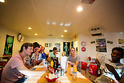 Het HPT is onderweg naar Battle Mountain. In september wil het Human Power Team Delft en Amsterdam, dat bestaat uit studenten van de TU Delft en de VU Amsterdam, een poging doen het wereldrecord snelfietsen te verbreken, dat nu op 133,8 km/h staat tijdens de World Human Powered Speed Challenge.<br /> <br /> With the special recumbent bike the Human Power Team Delft and Amsterdam, consisting of students of the TU Delft and the VU Amsterdam, also wants to set a new world record cycling in September at the World Human Powered Speed Challenge. The current speed record is 133,8 km/h.