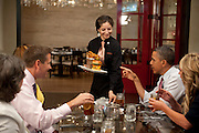 """15.JUNE.2012. WASHINGTON<br /> <br /> THE ASSOCIATED PRESS REPORTS THAT OBAMA SHARED LUNCH WITH FOUR WINNERS OF HIS """"LUNCH WITH BARACK"""" CAMPAIGN FUNDRAISER, FOR WHICH HE HAS PREVIOUSLY TAKEN GUESTS TO BOUNDARY ROAD, SCION, AND LIBERTY TAVERN.<br /> JUST AS WITH HIS LUNCH TRIP EARLIER THIS WEEK TO KENNY'S BBQ SMOKEHOUSE, OBAMA REPORTEDLY SPENT SOME TIME CHATTING ABOUT FATHER'S DAY — THIS TIME HE TALKED ABOUT HOW MICHELLE OBAMA CHIDED HIM FOR COMPLAINING ABOUT HOW PEOPLE MAKE A BIGGER FUSS OUT OF MOTHER'S DAY, POINTING OUT TO HIM THAT """"EVERY DAY IS FATHER'S DAY.""""  <br /> <br /> BYLINE: EDBIMAGEARCHIVE.CO.UK<br /> <br /> *THIS IMAGE IS STRICTLY FOR UK NEWSPAPERS AND MAGAZINES ONLY*<br /> *FOR WORLD WIDE SALES AND WEB USE PLEASE CONTACT EDBIMAGEARCHIVE - 0208 954 5968*"""