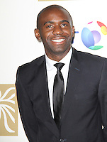 LONDON - NOVEMBER 30: Fabrice Muamba attended the British Olympic Ball at the Grosvenor House Hotel, London, UK. November 30, 2012. (Photo by Richard Goldschmidt)