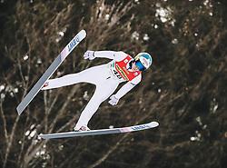 16.02.2020, Kulm, Bad Mitterndorf, AUT, FIS Ski Flug Weltcup, Kulm, Herren, im Bild Antti Aalto (FIN) // Antti Aalto of Finland during the men's FIS Ski Flying World Cup at the Kulm in Bad Mitterndorf, Austria on 2020/02/16. EXPA Pictures © 2020, PhotoCredit: EXPA/ JFK