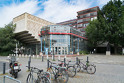 Exterior view of Mathematics department at Technical university of Berlin in germany