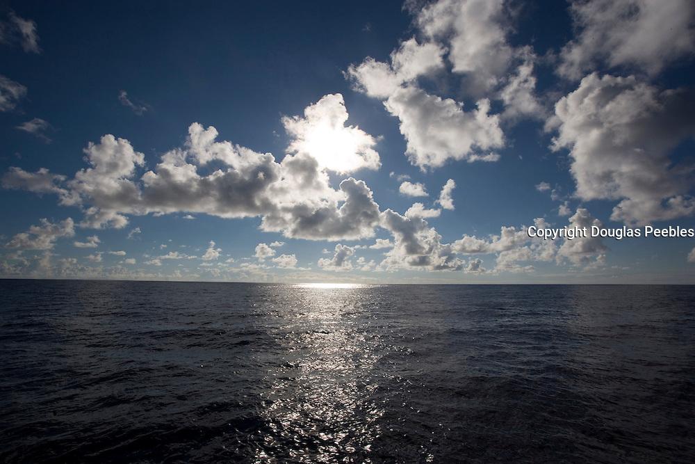 Clouds over ocean<br />