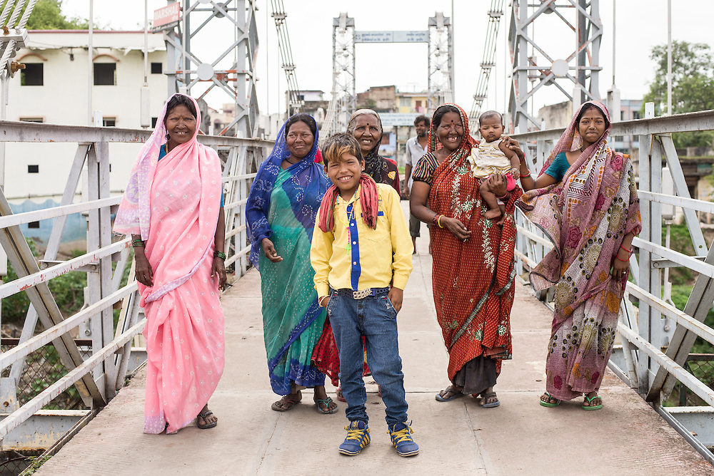 CAPTION: Indore city has seen a significant growth in population and is expected to have 3.3 million people by 2030.  LOCATION: Anand Mathur Hanging Bridge, Indore, Madhya Pradesh, India. INDIVIDUAL(S) PHOTOGRAPHED: Unknown.
