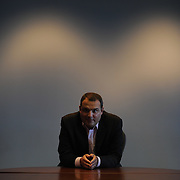Carl Forti, photographed in his office on Monday, Nov. 14, 2011 in Alexandria, Va. (Photo by Jay Westcott/Politico)