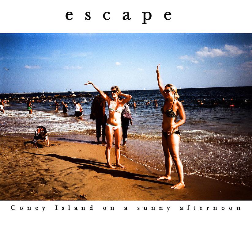 Coney Island and Manhattan snapshots