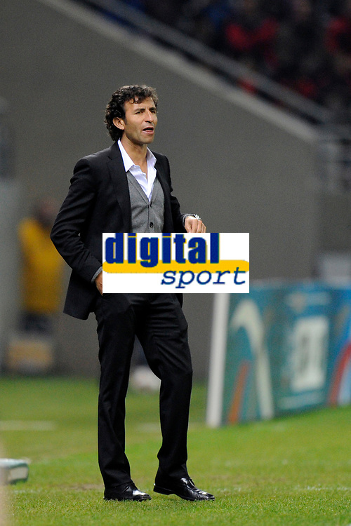 FOOTBALL - UNDER 21 - FRIENDLY GAME - FRANCE v SPAIN - 24/03/2011 - PHOTO GUILLAUME RAMON / DPPI - LUIS MILLA (SPAIN COACH)