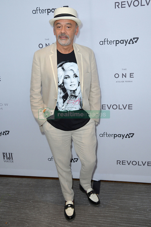 September 5, 2019, New York, NY, USA: September 5, 2019  New York City..Christian Louboutin attending The Daily Front Row Fashion Media Awards arrivals on September 5, 2019 in New York City. (Credit Image: © Kristin Callahan/Ace Pictures via ZUMA Press)