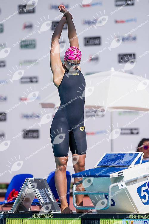 Sara Gusperti ITA <br /> Nuotatori Trentini<br /> 50 Stile Libero Donne<br /> Stadio del Nuoto, Roma<br /> Day 07 10-08-2016<br /> Campionati Italiani di Categoria 2016<br /> Photo Andrea Masini/Deepbluemedia/Insidefoto