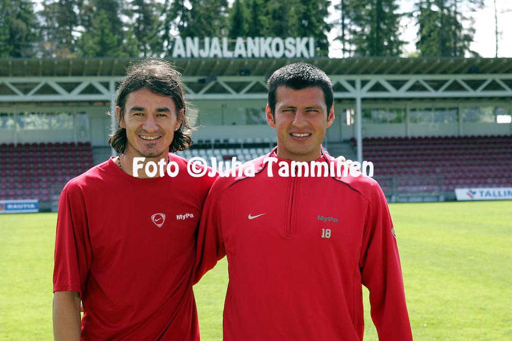 17.06.2005, Anjalankoski, Finland..Adriano Munoz & Hugo Miranda - Myllykosken Pallo-47.©Juha Tamminen.....ARK:k