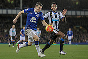 Séamus Coleman (Everton) during the Barclays Premier League match between Everton and Newcastle United at Goodison Park, Liverpool, England on 3 February 2016. Photo by Mark P Doherty.