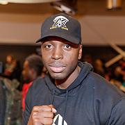 NLD/Almere/20190117 - Stare down van Boxing Influencers, Braboneger, echte naam Steven Brunswijk
