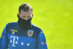 November 13, 2017 - Mogosoaia, Romania - Bogdan Lobont of Romania Football Team during a training session at Mogosoaia, Romania on 13 November 2017. (Credit Image: © Alex Nicodim/NurPhoto via ZUMA Press)