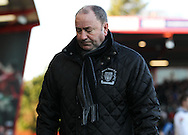 Picture by Tom Smith/Focus Images Ltd 07545141164<br /> 26/12/2013<br /> Yeovil Town manager Gary Johnson during the Sky Bet Championship match at the Goldsands Stadium, Bournemouth.