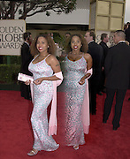 Lisa Nicole Carson, Golden Globes. Beverley Hilton. 21 January 2001. © Copyright Photograph by Dafydd Jones 66 Stockwell Park Rd. London SW9 0DA Tel 020 7733 0108 www.dafjones.com
