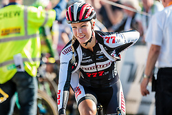 Annemarie WORST (NED) before the start of the Women Elite race at the 2018 Telenet Superprestige Cyclo-cross #1 Gieten, UCI Class 1, Gieten, Drenthe, The Netherlands, 14 October 2018. Photo by Pim Nijland / PelotonPhotos.com | All photos usage must carry mandatory copyright credit (Peloton Photos | Pim Nijland)
