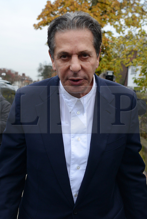 © Licensed to London News Pictures. 27/01/14 The Metropolitan Police Service (MPS) have stated there will be no further action by police against NIGELLA LAWSON in connection with drug use. FILE PICTURE DATED 28/11/2013. London, UK. Millionaire art dealer Charles Saatchi, arriving at Isleworth Crown Court to give evidence in a case against his two former personal assistants, who are accused of misappropriating over £600,00 of funds while working for Charles Saatchi and his former wife Nigella Lawson .Photo credit : Peter Kollanyi/LNP