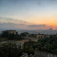 View From Sannat of Xewkija;<br />Gozo, Malta, Europe.<br />Summer 2016.