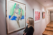 Abstract modern paintings - UNSEEN AND REDISCOVERED works by the former Canadian war artist, fashion illustrator & modern painter Irwin 'Bud' Crosthwait (1914 – 1981), go on sale in a selling exhibition by GrayMCA in London this September. The exhibition will present the most extensive selection of works by Crosthwait in 45 years, from across Europe and North America, including many works that have never before been on public view. The exhibition will run from 17-22nd September, 2015 and will feature a total of more than 60 original works ranging in price from £350-£10,000.