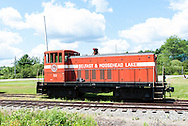 July 21, 2012: Day 11 in Stockton Springs, Belfast and Moosehead Lake Train, and Searsport, ME.