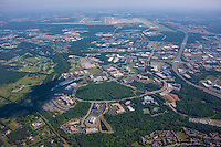 Aerial Photography of Westfields Corporate Center in Virginia by Jeffrey Sauers of Commercial Photographics