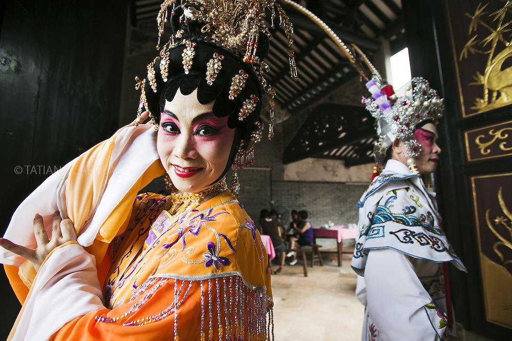Chinese opera survived the passing of the centuries, the coming and going of dynasties, and has many strong female roles, though for most of its history, no females to play them. Women in China, especially of the upper class, had to observe very reserved and controlled conduct, and for the most part confined themselves indoors. It was only in the beginning in the 1930s, it became acceptable for women to perform in the opera.