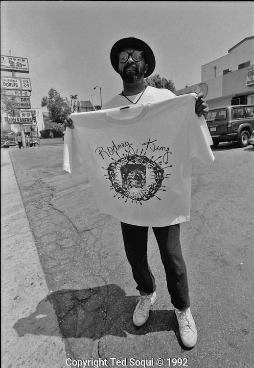 Image from the LA Riots of 1992.