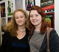 Beatrice Lemon GTF and Aoife McCollum from Donegal  at the launch of The Galway Theatre Festival and the NUI Galway's O'Donoghue Centre for Drama, Theatre and Performance  . Photo:Andrew Downes, xposure