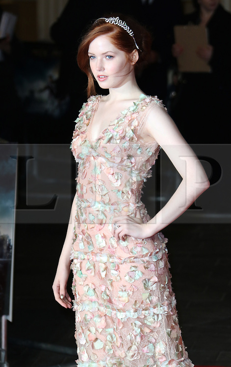 Ellie Bamber, Pride And Prejudice And Zombies - European Film Premiere,  Leicester Square, London UK, 1 February 2016, Photo by Richard Goldschmidt /LNP © London News Pictures