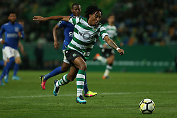 February 11, 2018 - Lisbon, Lisboa, Portugal - Sporting CP forward Gelson Martins from Portugal  during the Premier League 2017/18 match between Sporting CP and CD Feirense at Estadio Jose Alvalade on February 11, 2018 in Lisbon, Portugal. (Credit Image: © Dpi/NurPhoto via ZUMA Press)
