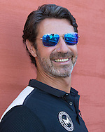 Mouratoglou Tennis Academy M.T.A Sophia Country Club, Biot, FRA.<br /> Patrick Mouratoglou (FRA) <br />  - Mouratoglou Tennis Academy  -  -   Sophia Country Club, - Biot -  - Frankreich  - 26 July 2016. <br /> &copy; Juergen Hasenkopf