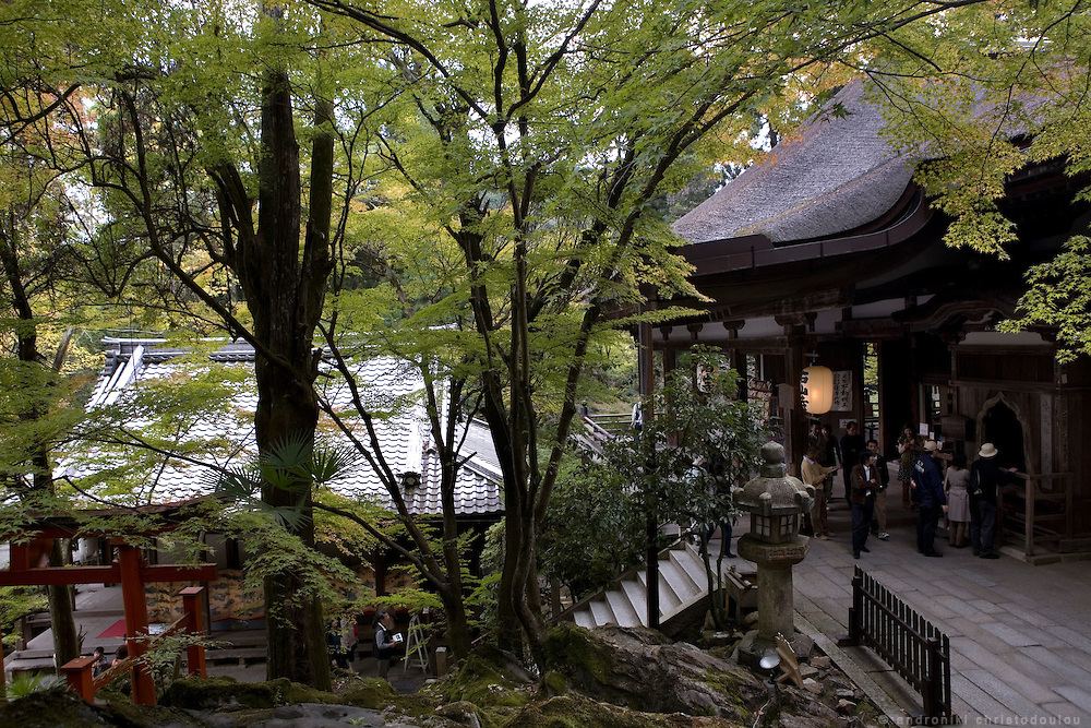 "Views of Ishiyamadera temple where lady Murasaki started writing ""The Tale of Genji"" , a 1000 years ago.."