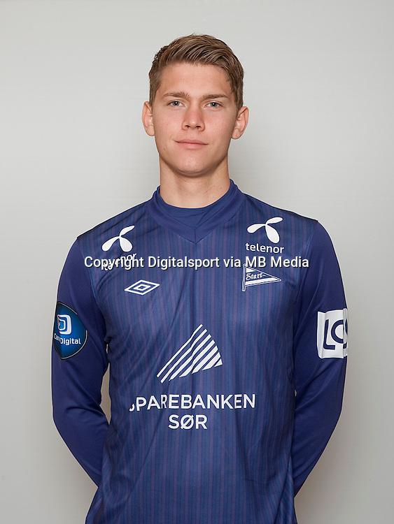 Fotball , Tippeligaen 2014 , Elitesereien , portrett , portretter , Start , Helge Rosenvold<br /> Foto Astrid M. Nordhaug