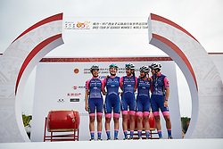 Valcar Cylance sign on at GREE Tour of Guangxi Women's WorldTour 2019 a 145.8 km road race in Guilin, China on October 22, 2019. Photo by Sean Robinson/velofocus.com