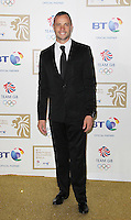 Oscar Pistorius has been cleared of the murder of his girlfriend Reeva Steenkamp, but has been found guilty of culpable homicide (manslaughter) by a South Africa high court Judge in Pretoria, 12 September 2014. Photo at the British Olympic Ball, Grosvenor House Hotel, London UK, 30 November 2012, by Richard Goldschmidt.