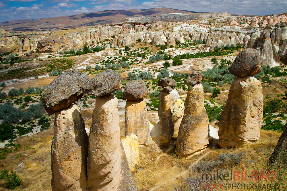 Fairy Chimneys. Cavusin. Cappadocia. Turkey